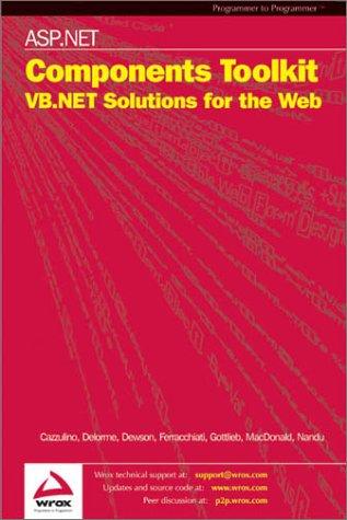 ASP.NET Components Toolkit [Dec 01, 2002] Daniel