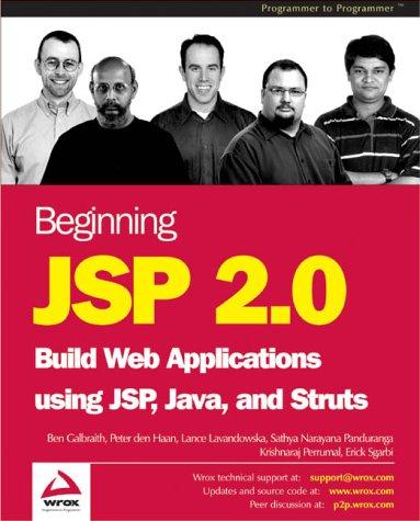 9781861008312: Beginning JSP 2.0