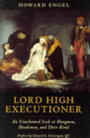 9781861051592: LORD HIGH EXECUTIONER