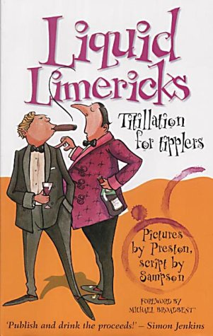 9781861054036: Liquid Limericks: Titillation for Tipplers
