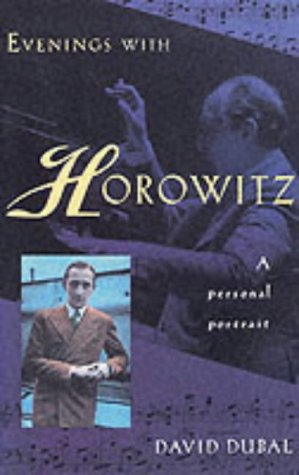 9781861054913: Evenings with Horowitz: A Personal Portrait