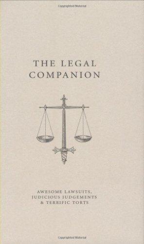 9781861058386: The Legal Companion (A Think Book)