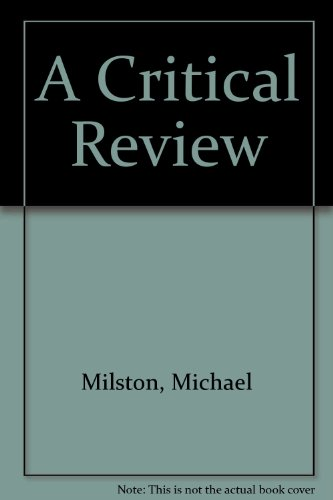 9781861063410: A Critical Review