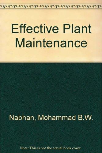 9781861069344: Effective Plant Maintenance