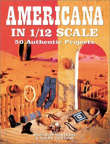 AMERICANA IN 1/12 SCALE 50 AUTHENTIC PROJECTS