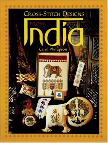9781861083166: Cross Stitch Designs From India