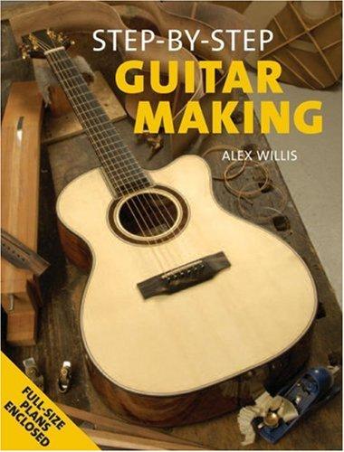 9781861084095: Step-By-Step Guitar Making