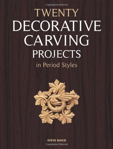 9781861086945: Twenty Decorative Carving Projects in Period Styles