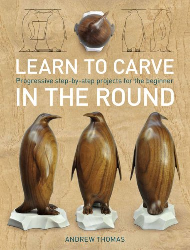 9781861088048: Learn to Carve in the Round: Progressive Step-by-step Projects for the Beginner