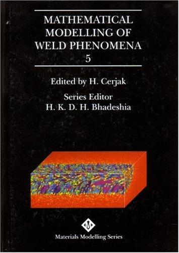 B0738 Mathematical modelling of weld phenomena 5