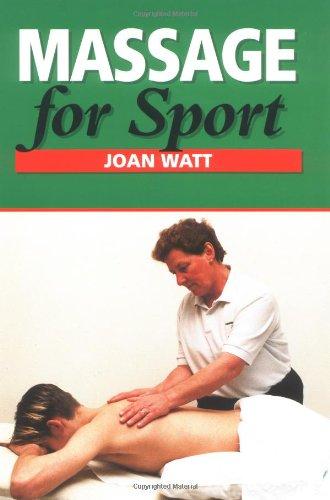 9781861261601: Massage for Sport