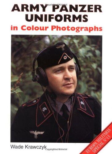 9781861263032: Army Panzer Uniforms in Colour Photographs (Europa Militaria Special)