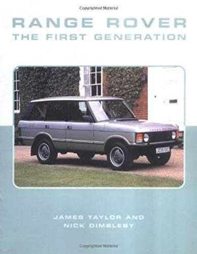 9781861265548: Range Rover: The First Generation (Crowood AutoClassic)