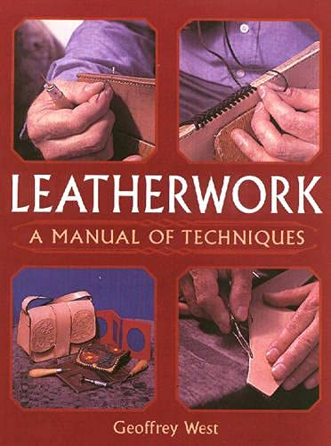 9781861267429: Leatherwork: A Manual Of Techniques