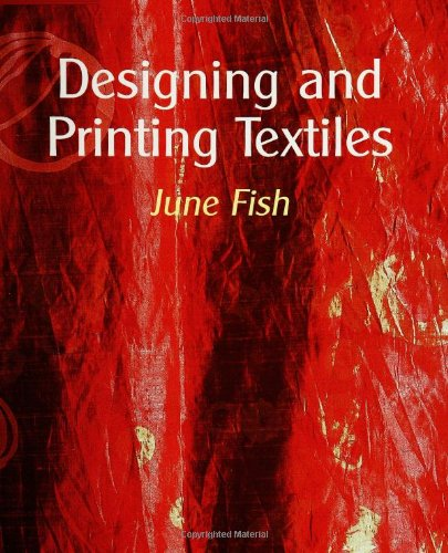 Designing and Printing Textiles: Fish, June