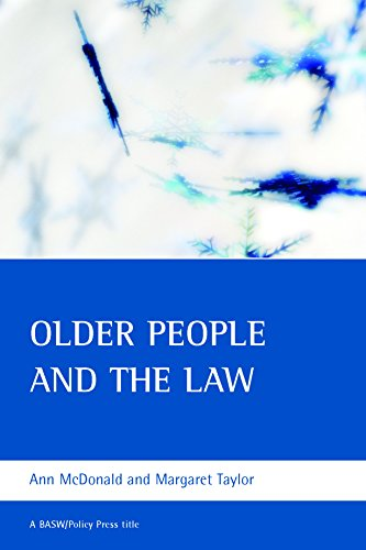 9781861347145: Older people and the law (BASW/Policy Press Titles)