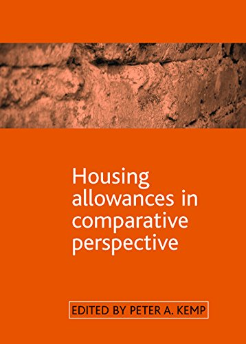 Housing Allowances in Comparative Perspective: Kemp