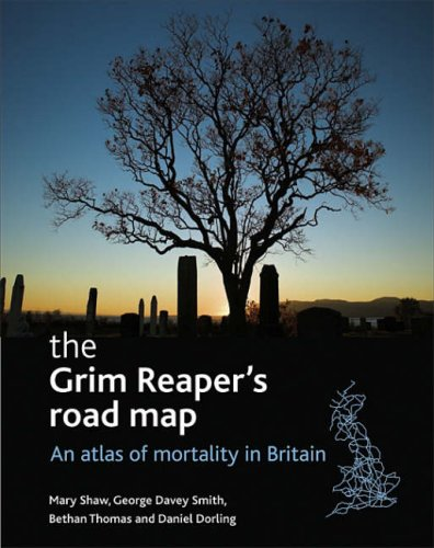 9781861348241: The Grim Reaper's Road Map: An Atlas of Mortality in Britain (Health and Society Series)