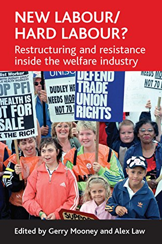 9781861348333: New Labour/hard labour?: Restructuring and resistance inside the welfare industry
