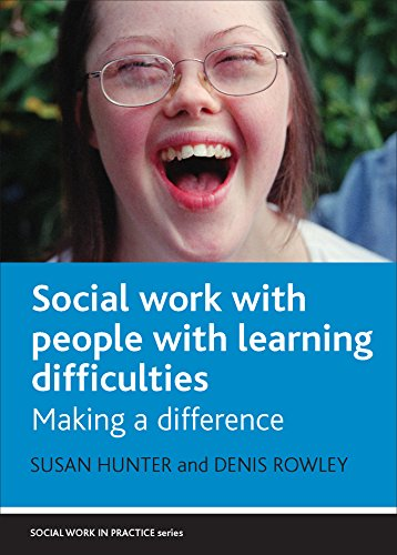 9781861348791: Social work with people with learning difficulties: Making a difference (Social Work in Practice Series)