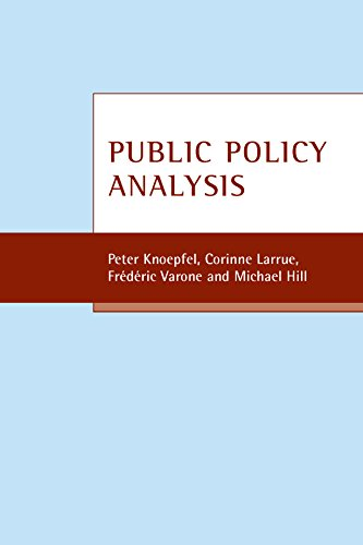 9781861349071: Public policy analysis