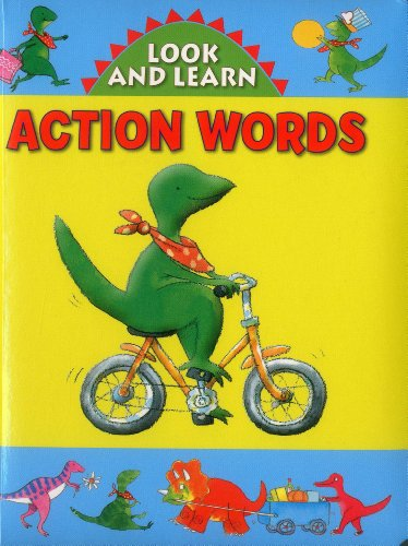 9781861473820: Look and Learn with Little Dino: Action Words