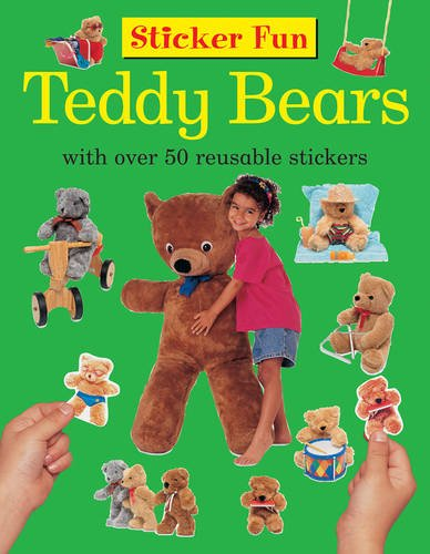 Sticker Fun: Teddy Bears: With Over 50 Reusable Stickers: Armadillo Publishing