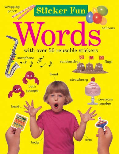 Sticker Fun: Words: With Over 50 Reusable Stickers: Anness Publishing