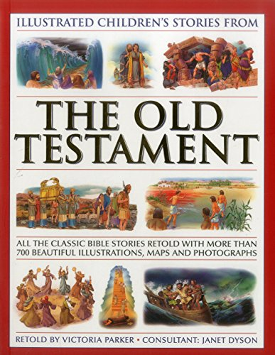 Illustrated Children's Stories from the Old Testament (Bible): Victoria Parker