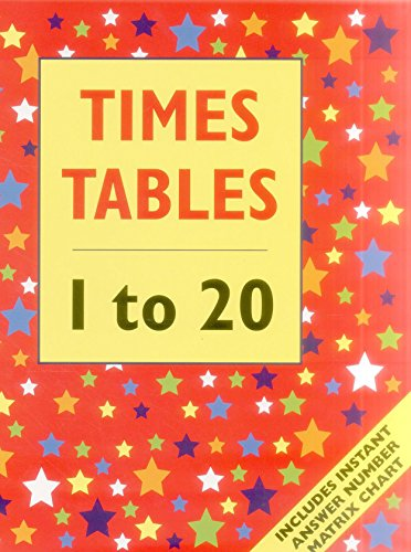 9781861474735: Times Table 1 to 20 (Floor Book): Includes instant answer number matrix chart