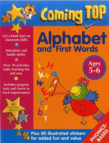 9781861476791: Coming Top: Alphabet and First Words - Ages 5-6