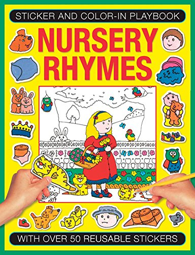 Nursery Rhymes: With over 50 Reusable Stickers: Tulip, Jenny (Illustrator)