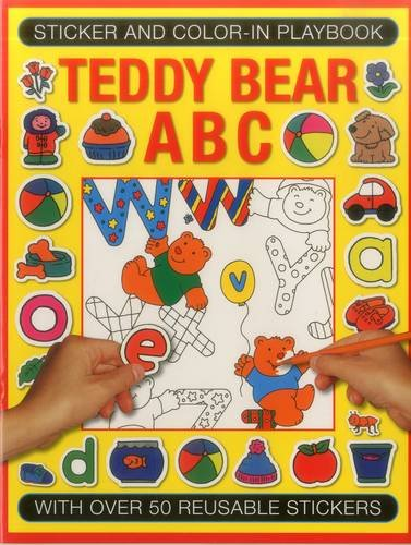 Sticker And Colour-In Playbook: Teddy Bear ABC: Jenny Tulip (illustrator)