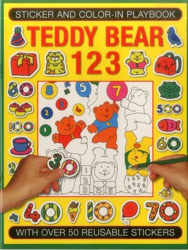 Sticker and Color-in Playbook: Teddy Bear 123: Jenny Tulip (illustrator)