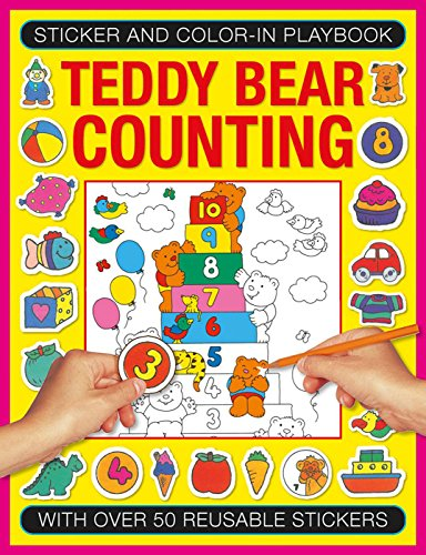 Sticker and Color-in Playbook: Teddy Bear Counting: Jenny Tulip (illustrator)