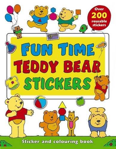 Fun Time Teddy Bear Stickers: Michael Johnstone (author),