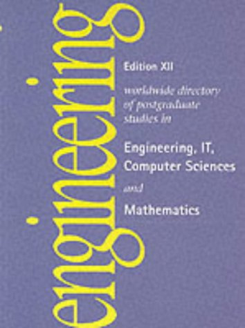 Postgraduate Studies in Engineeringit Computer Science and Mathematics (Edition XII guides): ...