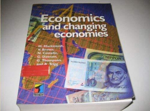 9781861520425: Economics and Changing Economies
