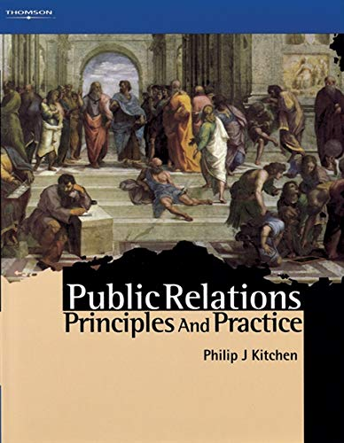 9781861520913: Public Relations: Principles and Practice