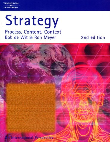 9781861521392: Strategy: Process, Content, Context: An International Perspective
