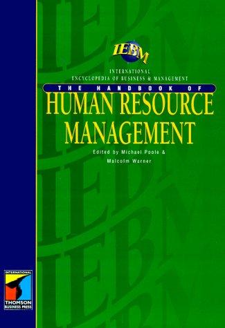 IEBM Handbook of Human Resource Management (International: Poole, Michael and