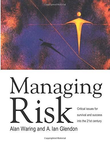 Managing Risk: Waring, Alan E.,