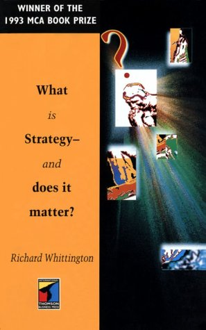 9781861522238: What Is Strategy-And Does It Matter? (Routledge Series in Analytical Management)