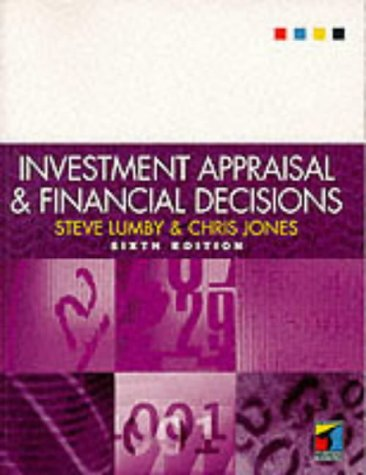 9781861522573: Investment Appraisal and Financial Decisions