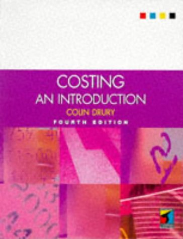 Costing: an Introduction (student's book): Colin Drury
