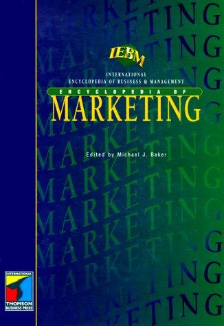 Iebm Encyclopedia of Marketing (International Encyclopedia of