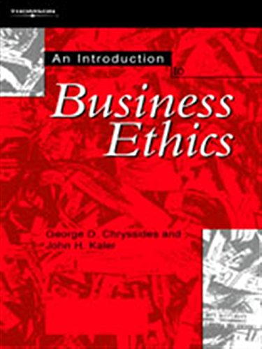 9781861523563: An Introduction to Business Ethics