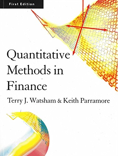 Quantitative Methods for Finance: Terry J. Watsham, Keith Parramore