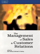 9781861523860: The Management of Sales and Customer Relations