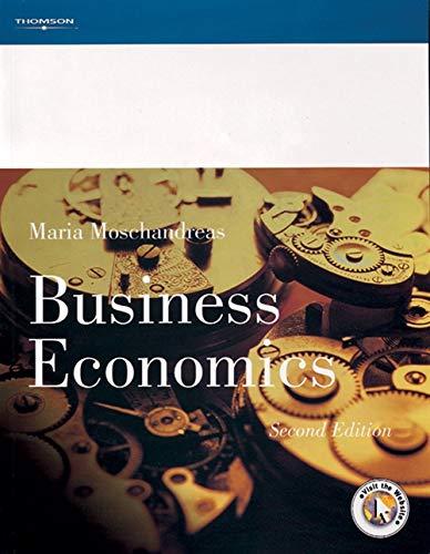 Business Economics: Maria Moschandreas